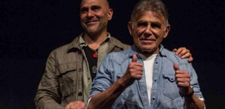 Héctor Suárez Gomís celebra que su papá está en casa