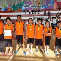 Concluye liga deportiva estudiantil de basquetbol en Ixtapaluca