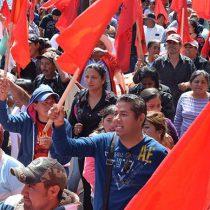Instalan plantón en Palacio de Gobierno, hasta que Gobernador de Coahuila los atienda