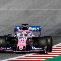 Checo Pérez, arañó puntos en GP de Austria