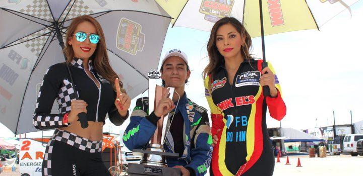 Impresionante victoria de Marcelo García en las Trucks en el Gran Premio Aguascalientes