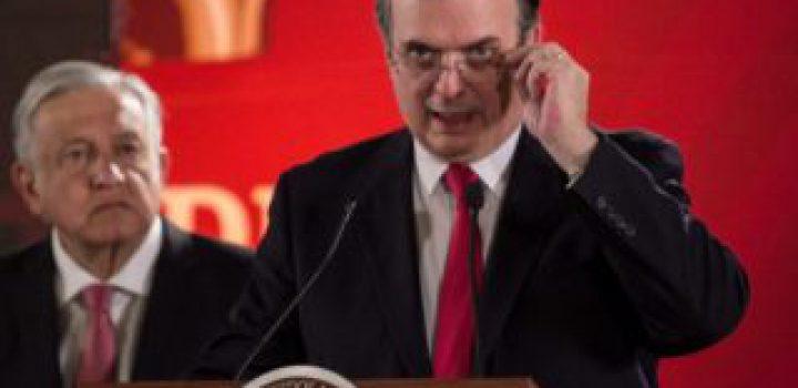 Marcelo Ebrard, asegura tener éxito en temas migratorios