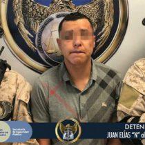 Cayó 'El Metra', presunto líder criminal en Guanajuato