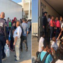 Rescatan a 160 migrantes en Veracruz