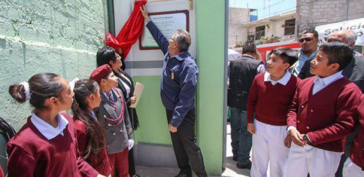 Impulsan la rehabilitación de escuelas en Chimalhuacán