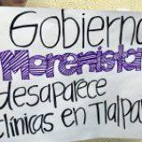 Gobierno morenista desaparece clínicas de salud y programas sociales en Tlalpan