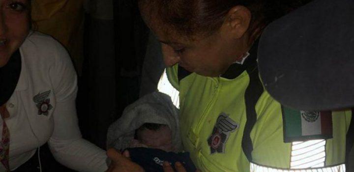 'Bebé tormenta': nace en medio de las lluvias en Guadalajara