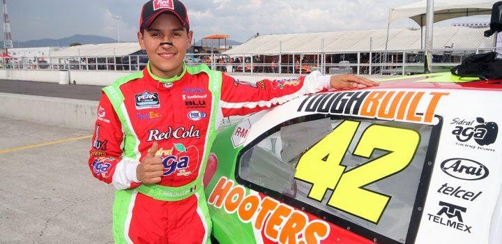Correrá Juan Manuel González otra vez en la categoría estelar de NASCAR PEAK México