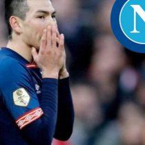 No es Lozano prioridad para el Napoli
