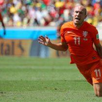 Arjen Robben se retira del futbol