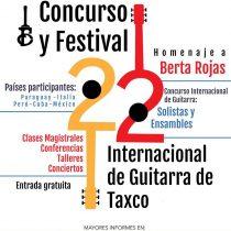 La paraguaya Berta Rojas será galardonada con La Guitarra de Plata