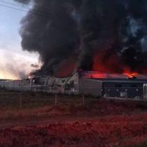 Controlan incendio en fábrica en Aguascalientes