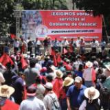 Arranca Guelaguetza en medio de inconformidad social; exigen Antorchistas obras y servicios a Alejandro Murat
