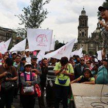 Antorchistas realizarán hoy una manifestación al Zócalo Capitalino