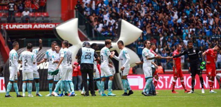 Querétaro humilla al Toluca en la primera fecha de la Liga MX