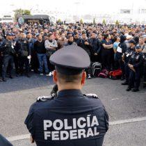Policías federales y migración; dos temas que preocupan al gobierno federal