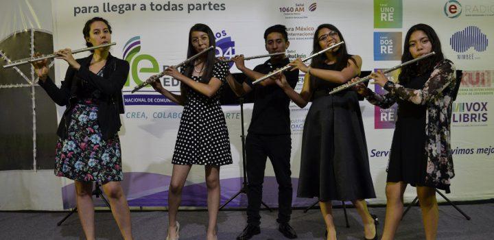 Radio Educación presenta el primer concierto de Flautísimo