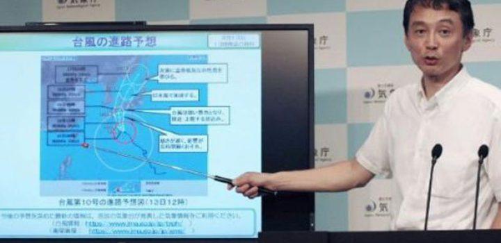 Japón se prepara para el paso del ciclón tropical Krosa
