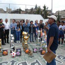 Sube como la espuma el deporte en Atizapán