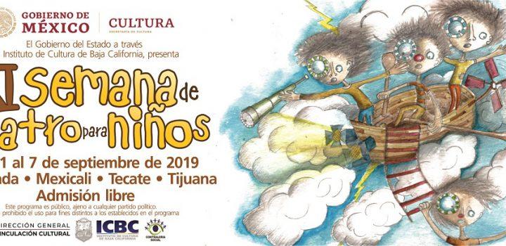 Inicia la XI Semana de Teatro para Niños en Baja California