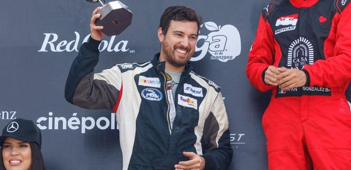 José Arellano, a dar la campanada en la Fórmula 1800 en León