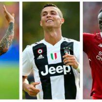 Messi, Cristiano y Mané, candidatos a mejor atacante