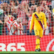 Sin Messi, el Barcelona perdió con el Athletic Bilbao