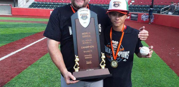 México, campeón de la Serie Mundial Infantil Carl Ripken Jr.