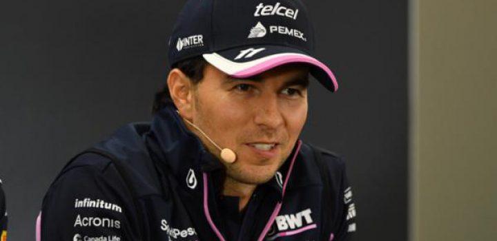 Sergio Pérez competirá con SportPesa Racing Point F1 Team durante los próximos tres años