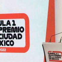 Fórmula 1 se queda en México hasta 2022