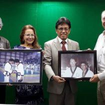 Pedro Fernández reúne a dos grandes leyendas del taekwondo de México