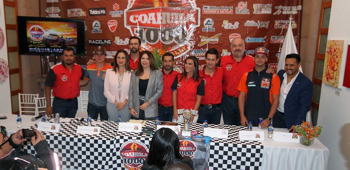 Reunirá Coahuila 1000 Desert Rally a los mejores exponentes