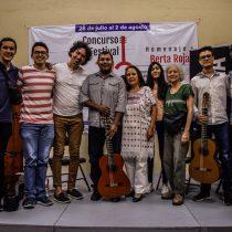 Maestros y alumnos comparten experiencias en el 22 Concurso y Festival Internacional de Guitarra de Taxco