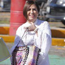 Rosario Robles arriba a juzgados federales del Reclusorio Sur