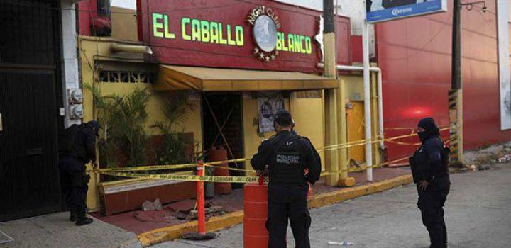 Suman 30 los muertos por ataque a bar de Veracruz