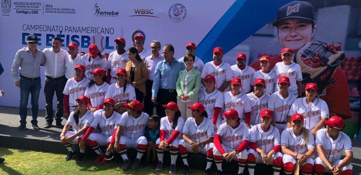 En Aguascalientes, fue inaugurado Campeonato Panamericano de Beisbol Femenil