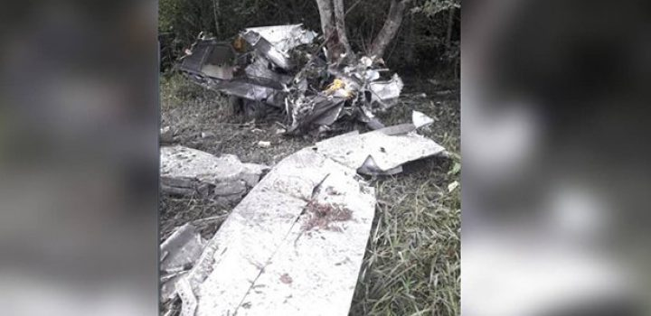 Mueren mexicanos al chocar presunta narcoavioneta en Venezuela