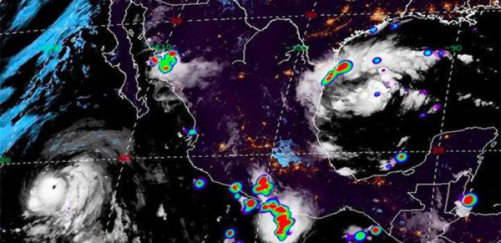 Se forma ciclón tropical 7 en el Golfo de México