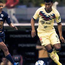 Emocionante empate a 1 gol entre Aguilas y Pumas