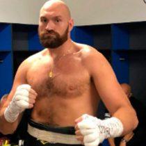 A Andy Ruiz le gano con una mano en la espalda: Tyson Fury
