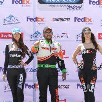 Javier Campos tiene carrera compleja en óvalo potosino dentro de la FedEx Challenge