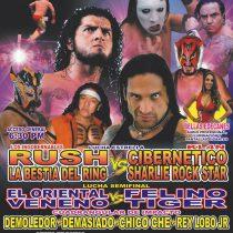 Llevarán función de lucha libre a Chimalhuacán con Los Ingobernables dispuestos a todo