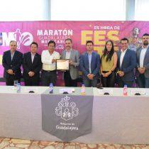 Refrendan reconocimiento a maratón de Guadalajara