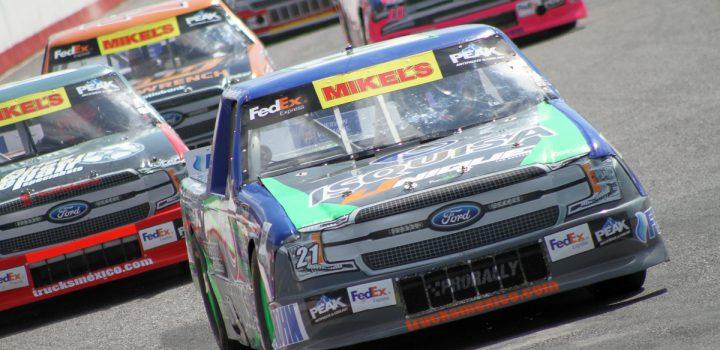 Finaliza Marcelo García 9no en las Trucks del Gran Premio Canel's