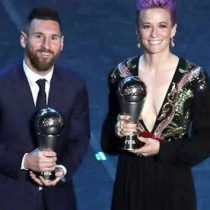 Son Messi y Rapinoe The Best 2019