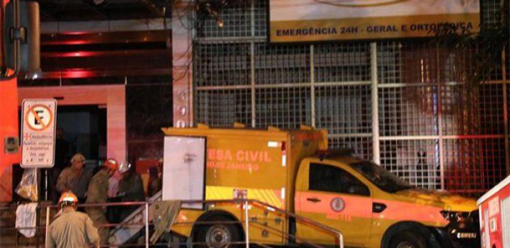 Incendio en hospital de Río de Janeiro deja 11 muertos