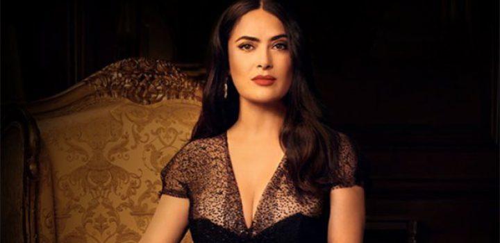 Con mariachi, Salma Hayek canta La llorona en su cumpleaños