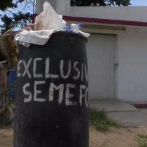 Convierten en basurero Semefo en Veracruz