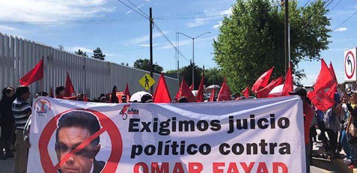 Antorcha acudirá al Congreso Local a exigir juicio político; entregarán 100 mil firmas ciudadanas