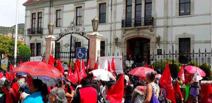 Gobierno de Pachuca incumple compromisos con Antorcha; comisión exige ejecución de obras
